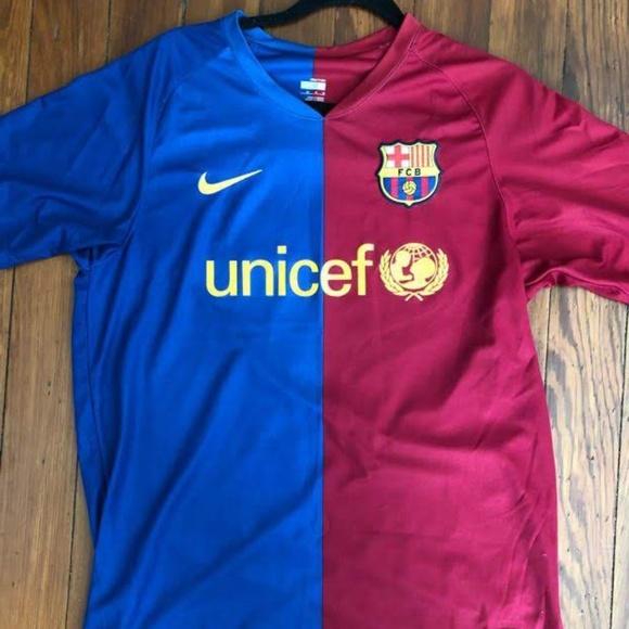 timeless design f9c63 24048 Barcelona 08/09 Champions League Jersey